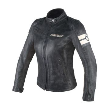 Picture of Perforated Lady Leather Jacket